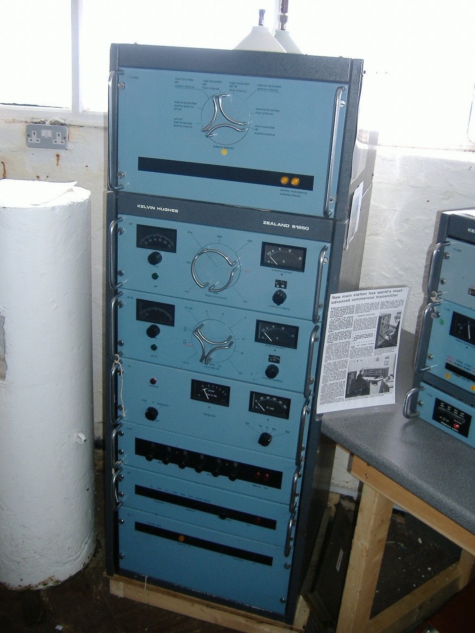 Kelvin Hughes Zealand S1250 Main Transmitter