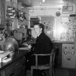 "Radio room of Royal Mail ship ""Drina"""