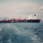 MV Staffordshire as storage vessel Yeosu South Korea 1982
